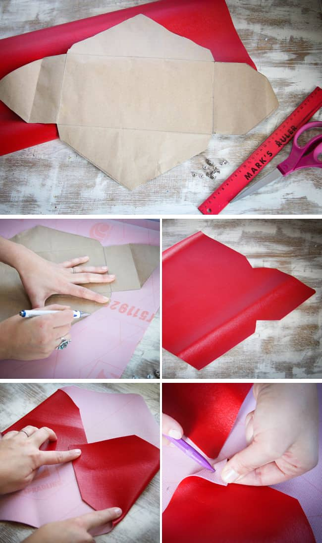 how to make clutch at home