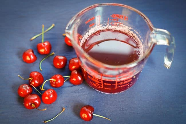 homemade cherry syrup