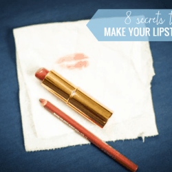 8 Secrets to Make Lipstick Last