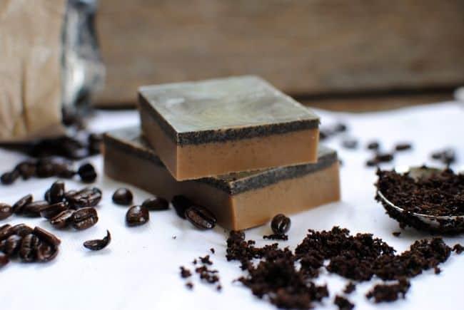 Coffee Soap | Homemade Soap 4 Ways | HelloGlow.co