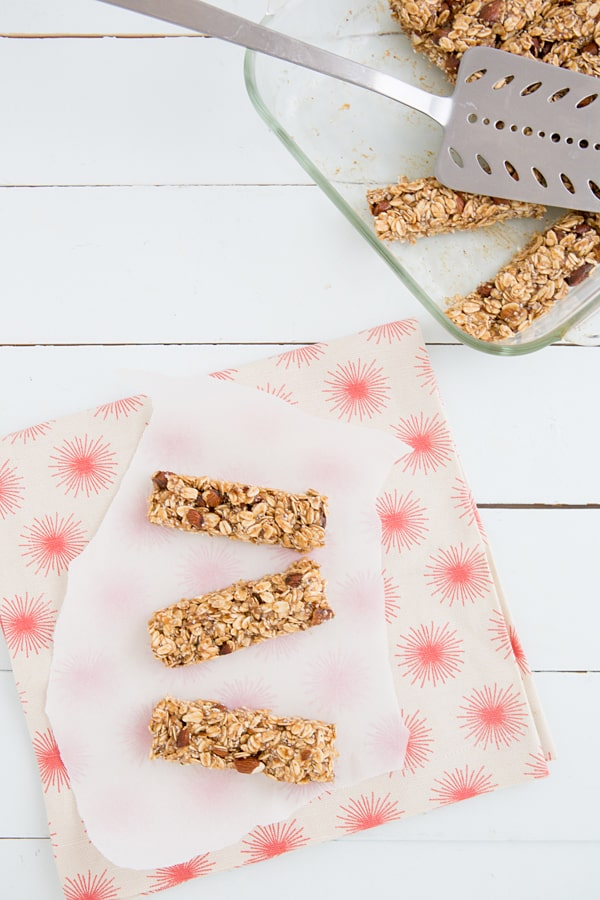 Salted caramel granola bars