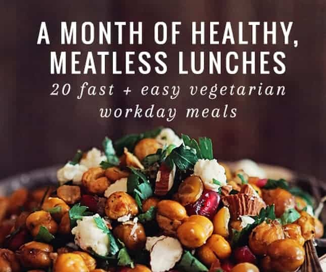 Month of Healthy Lunches Ebook