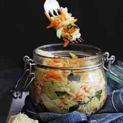 How To Make Homemade Fermented Vegetables