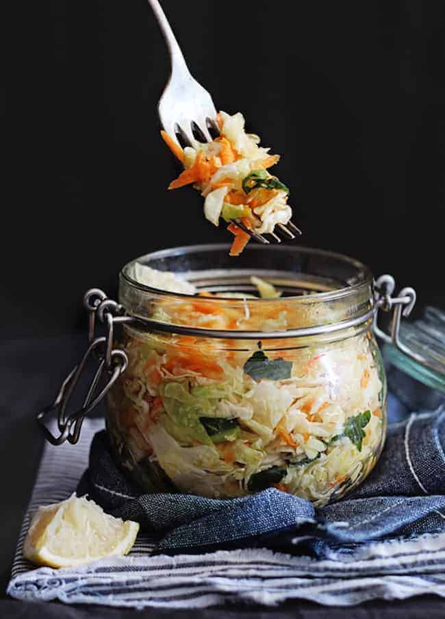Fermented Veggies | 13 Gut Healing Recipes