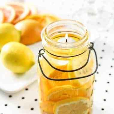 DIY 5-Minute Mason Jar Candles