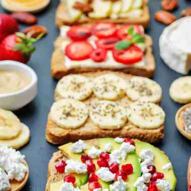 10 Easy Ingredient Combos to Upgrade Toast – Anytime of the Day