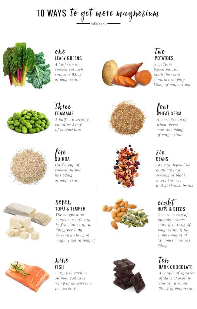 10 Ways to Get More Magnesium (And Why You Should)