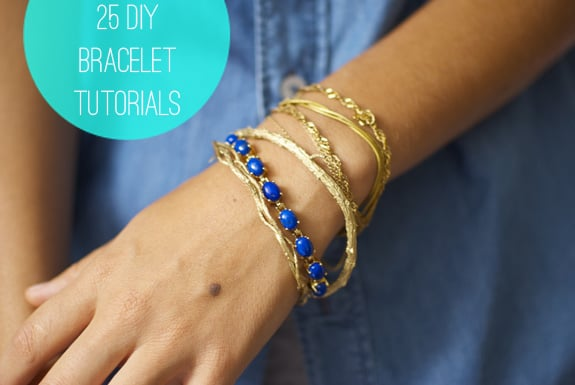 25 DIY Bracelets | HelloNatural.co