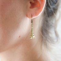 DIY Kate Spade Eiffel Tower Earrings