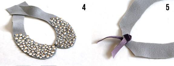 make jeweled collar