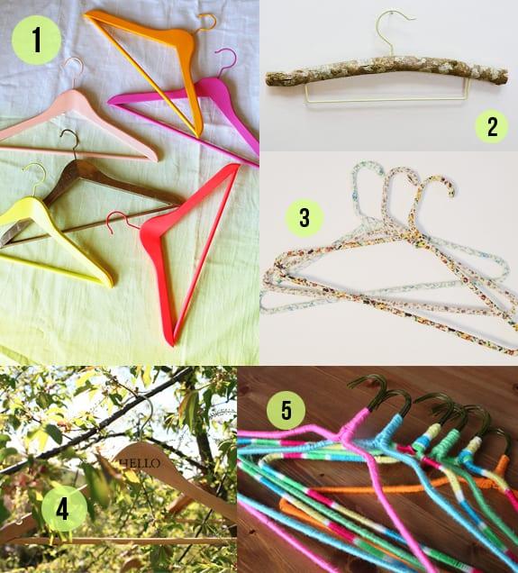 DIY hangers