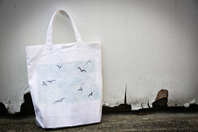 Photo Transfer Tote Bag