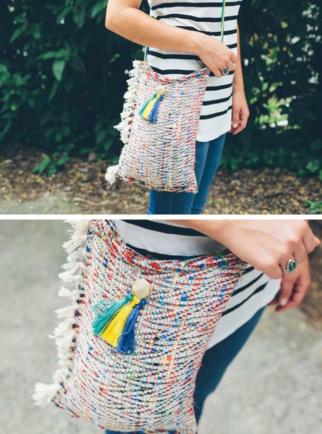 DIY Crossbody Tote | Henry Happened