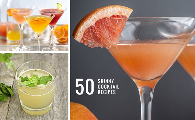 50 Skinny Cocktail Recipes | Henry Happened