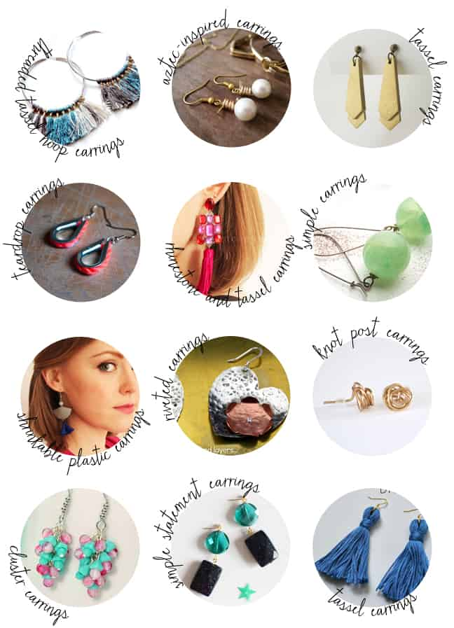 50 DIY Earrings | HelloNatural.co