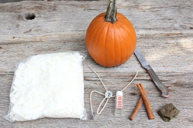 Pumpkin DIY Candles | HelloNatural.co