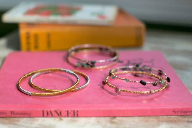 DIY Wire Wrapped Bracelets | Henry Happened