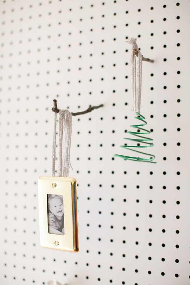 DIY Hardware Ornaments 3 Ways | HelloNatural.co