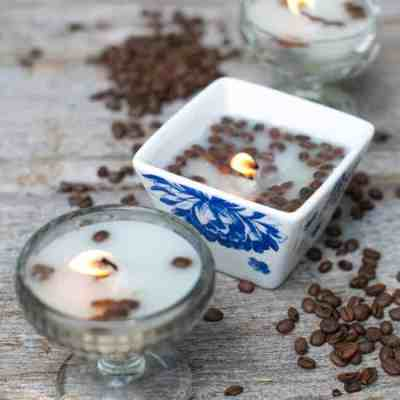 Coffee DIY Candles | HelloNatural.co
