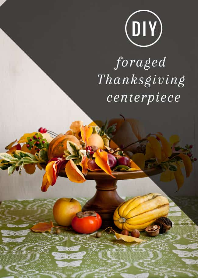 Foraged Thanksgiving Centerpiece | Henry Happened