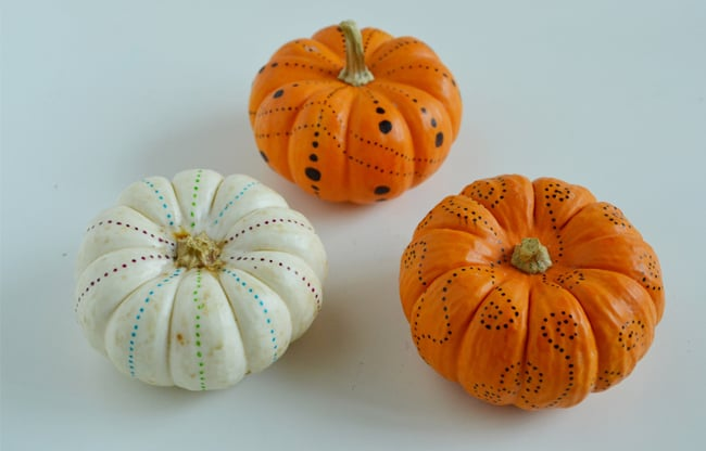 Fall Kids Craft Pumpkins