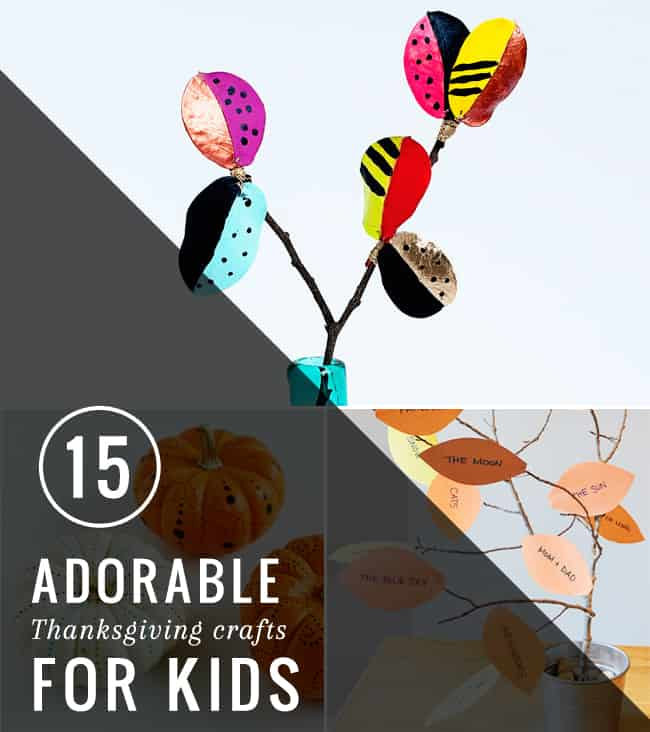 15 Adorable Thanksgiving Crafts for Kids | Henry Happened