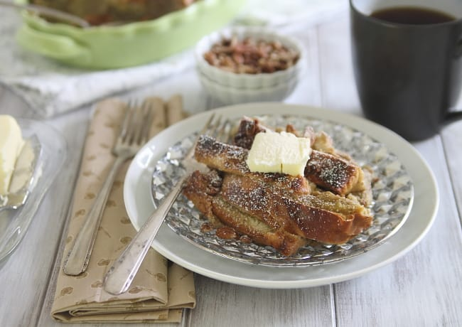Baked Gingerbread Pecan French Toast | Henry Happened