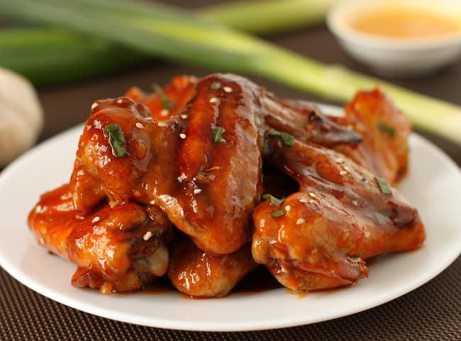 Baked Sriracha Wings | Henry Happened