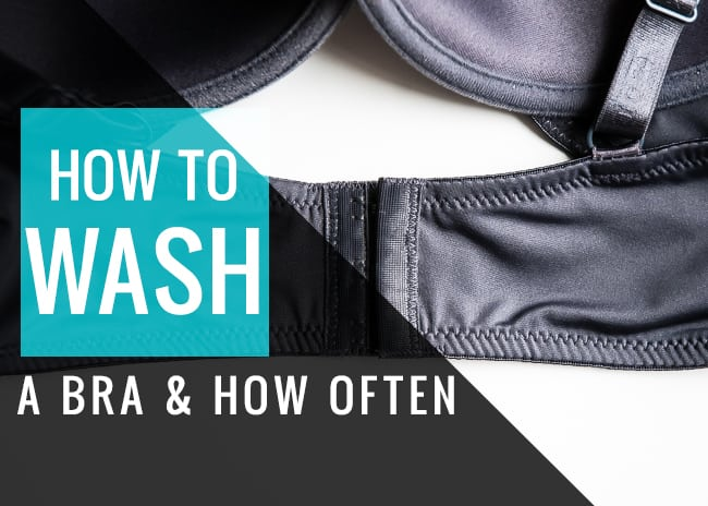 How to wash a bra & how often - Henry Happened
