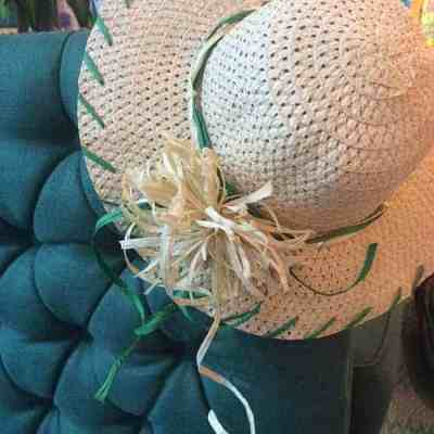 DIY Raffia Straw Hat | Henry Happened