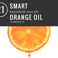 21 Smart Uses for Orange Oil   HelloNatural.co