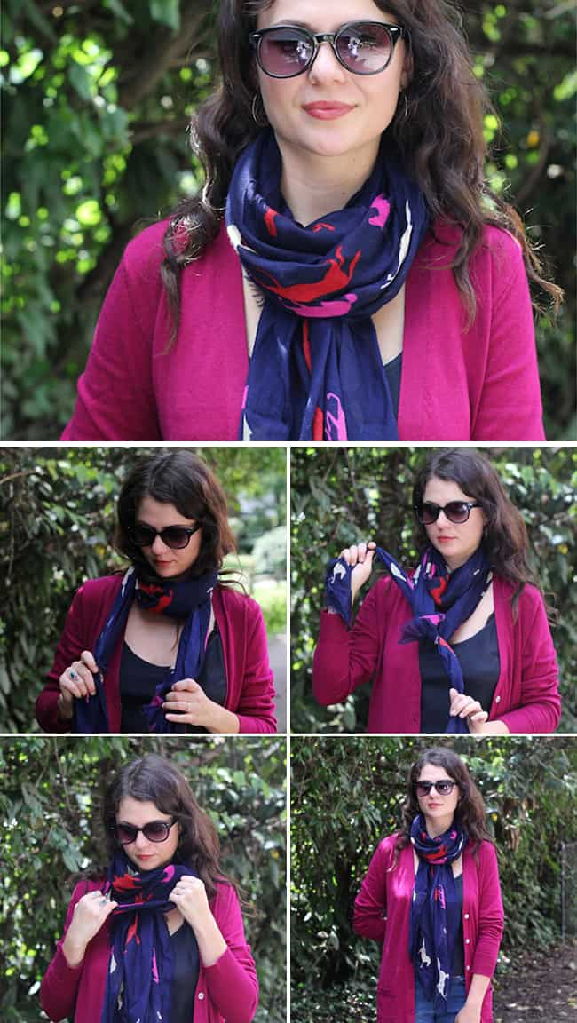13 stylish ways to tie a scarf | HelloNatural.co