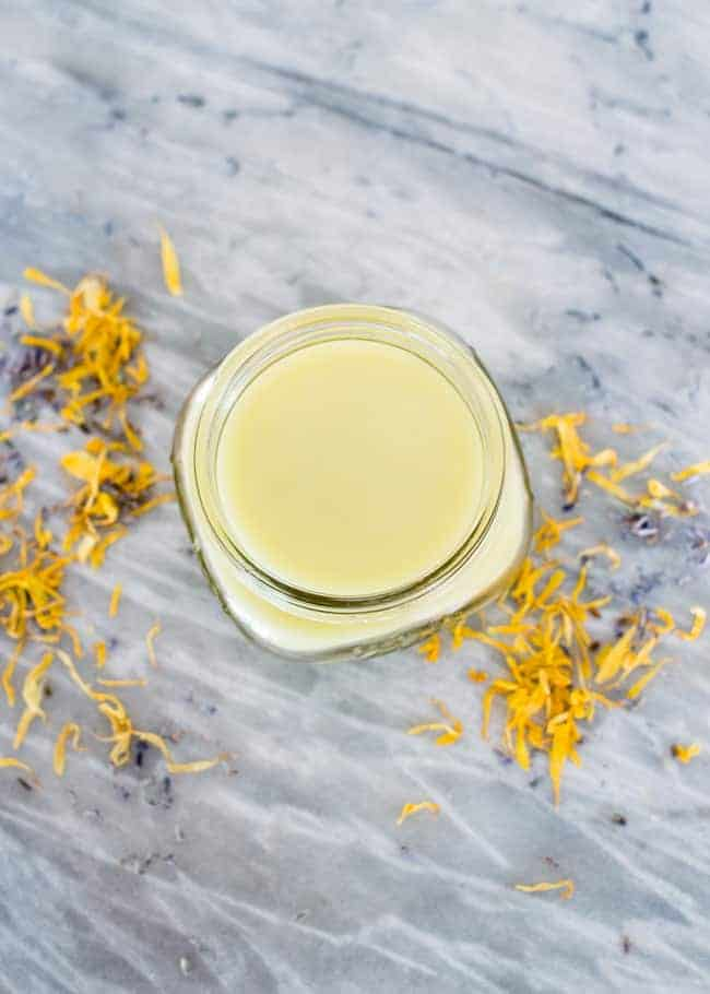 Lavender Calendula Hand Salve | HelloNatural.co