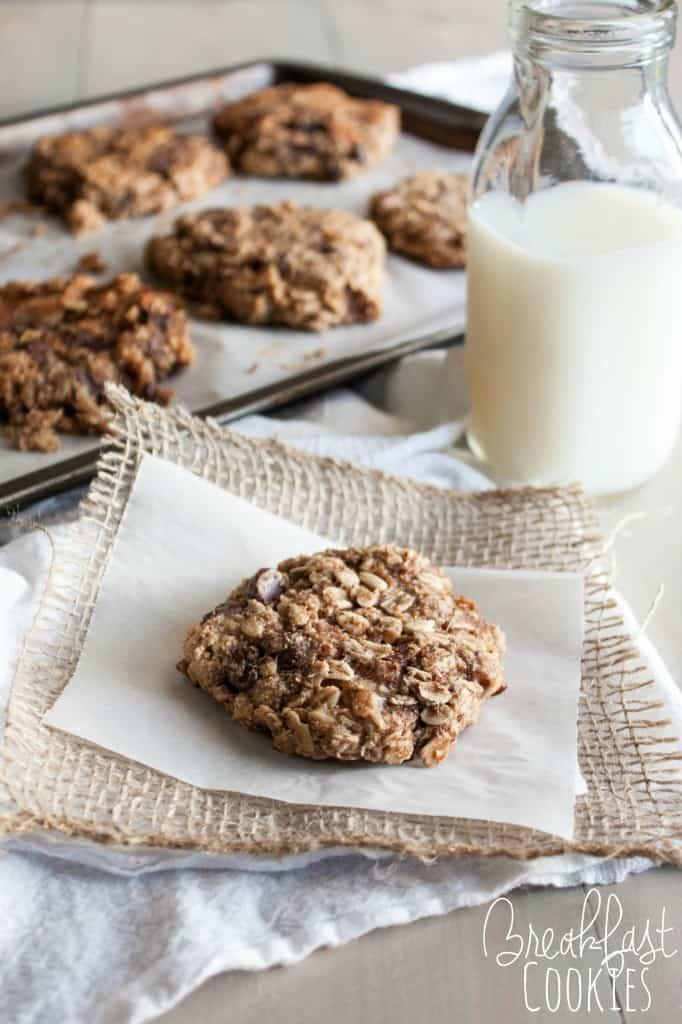 Quick and Healthy Breakfast Cookies