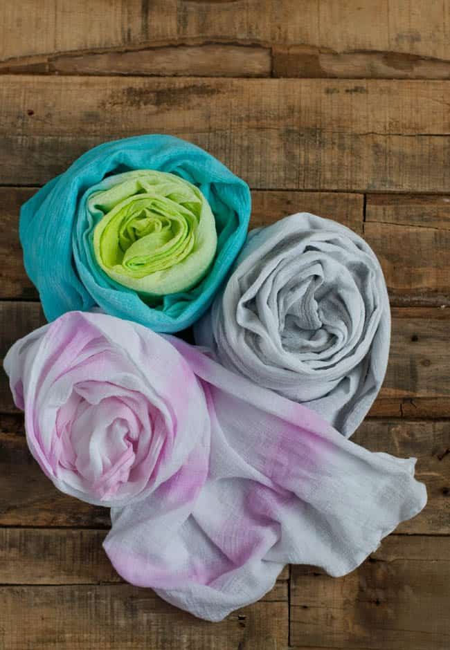 DIY Painted Summer Scarf | Hello Natural