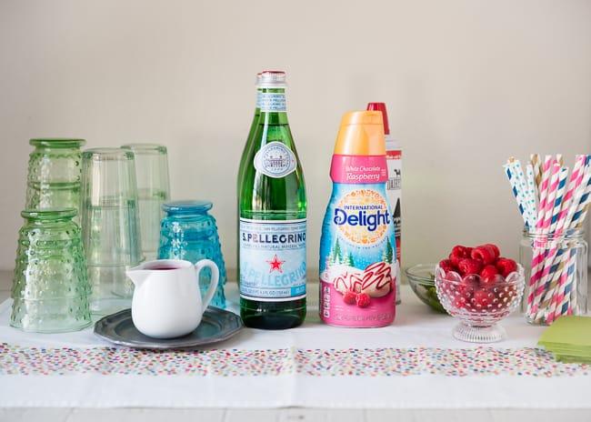 DIY Raspberry Cream Soda Bar   HelloNatural.co
