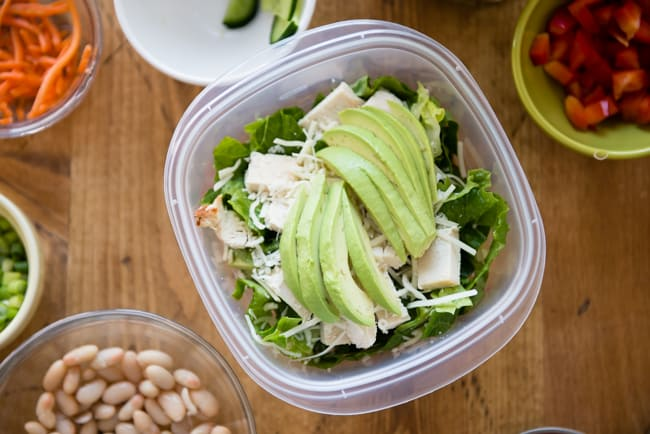 How To Pack Salads For The Week-11