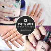 13 Pretty Ways to Wear Pink Nails
