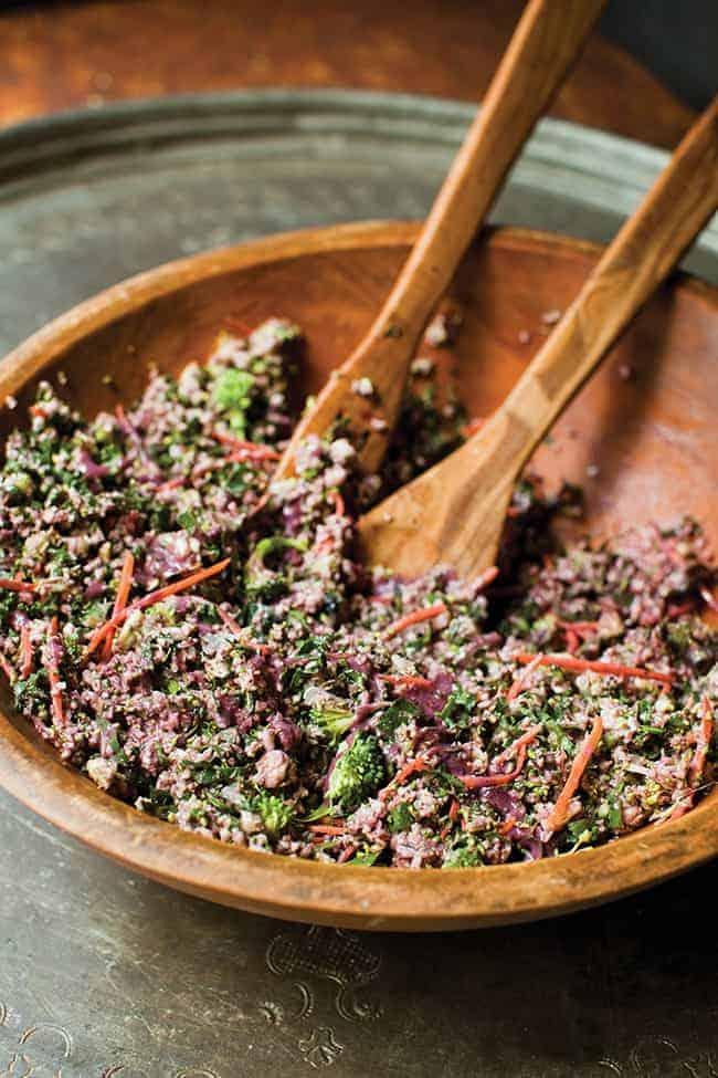 Detox Ranch Salad | Hello Natural