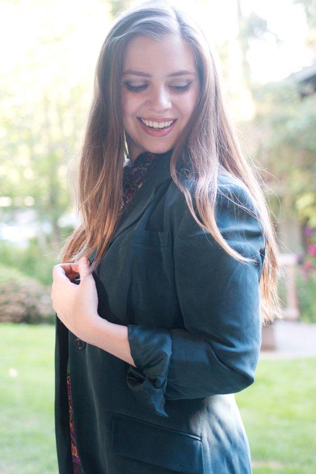 Fall Fashion Trends: Oversized Boyfriend Blazers in Autumn Tones // Hello Rigby Seattle Fashion Blog