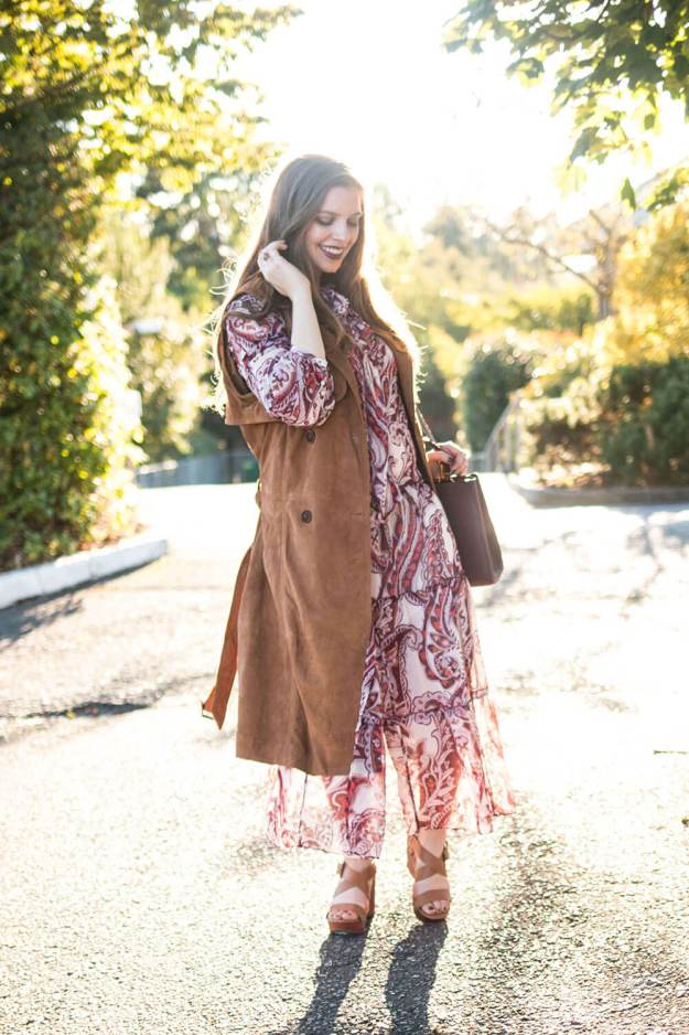 Back to School Outfit: 70s Inspired Boho Glam Outfit // Hello Rigby Seattle Fashion Blog