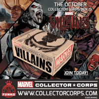 Marvel Collector Corps October 2015 Theme Spoilers + Teaser Video