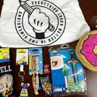 My Geek Box August 2015 Subscription Box Review