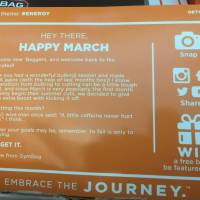 Gymbag March 2016 Subscription Box Review & Coupon