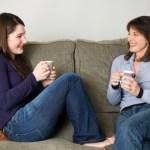 mom-teen-coffee-chat - Julie Zine Coleman