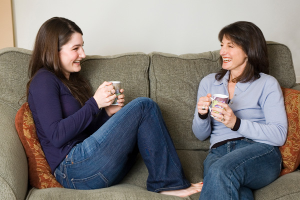 mom-teen-coffee-chat - Julie Zine Coleman