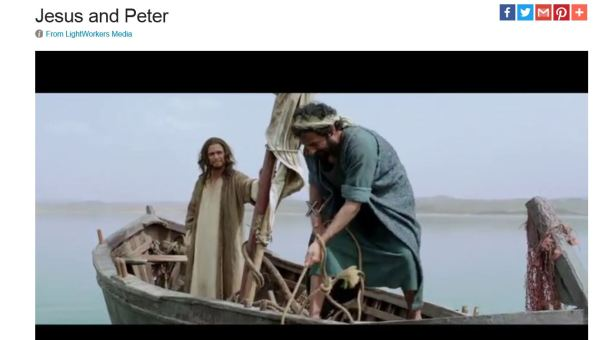 Jesus teaches Peter about real life...