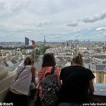 Paris: Blick über die Stadt