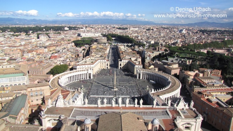 The best panoramic views in Rome: Tips for a great view over Rome!