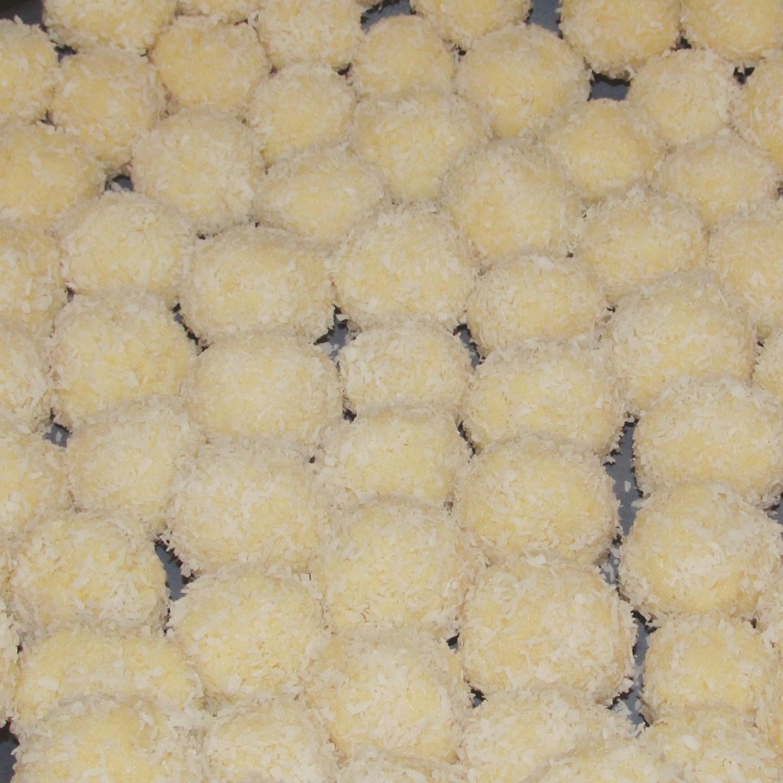 coconut milk balls